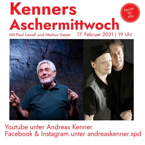 Andreas Kenner, Markus Geyer und Paul Lawall
